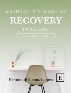 Recovery Sayings