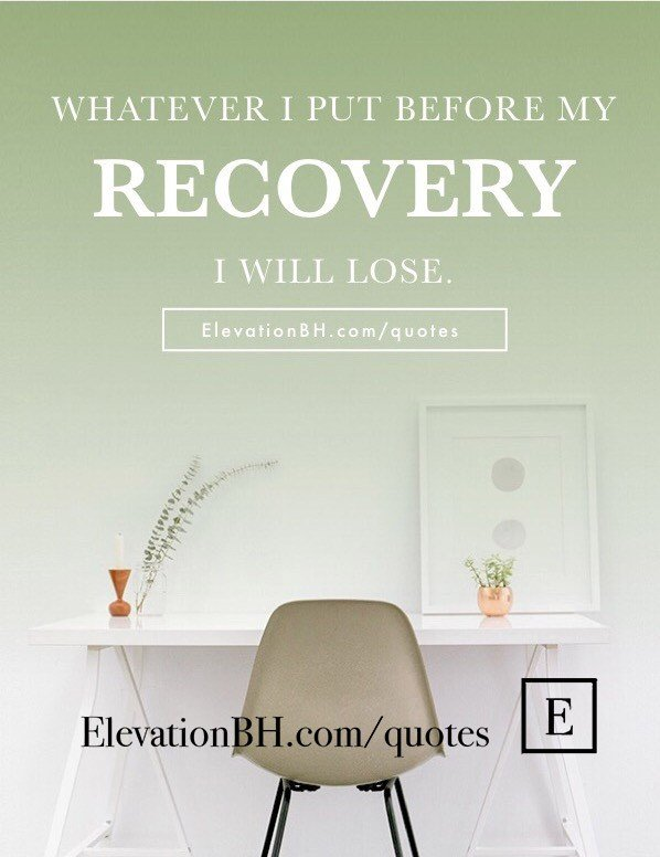 Addiction Recovery Quotes | Elevation Behavioral Health