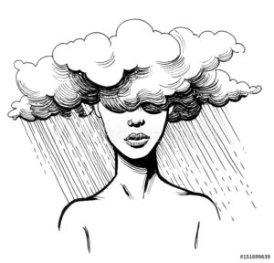 severe debilitating depression
