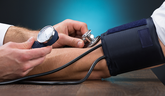 alcohol withdrawal and blood pressure